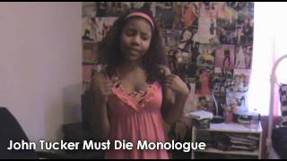 Aquamarine & John Tucker Must Die Monologues [2in1!]