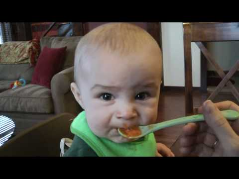 Baby Food Taste Test (Too Funny!)