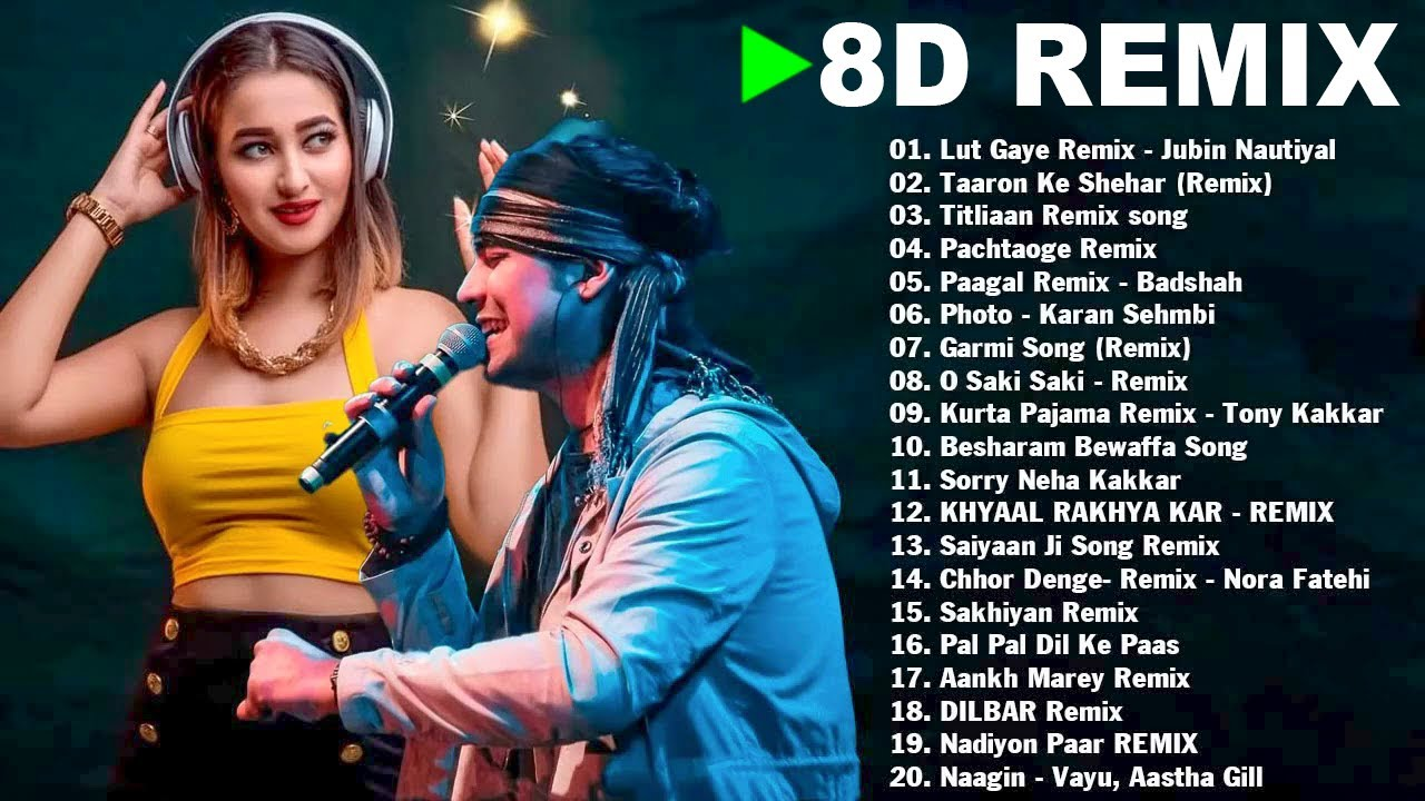 8D Bollywood Songs || NEW HINDI REMIX SONG 2021 || 8D Audio || 8D Songs Headphones