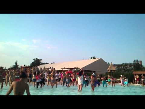 Zumba® Pool Party with Romanian Instructors
