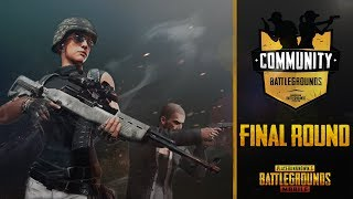 PUBG Mobile Community Battlegrounds - Final Round