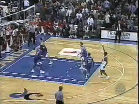 Final of Maryland beating #2 Kansas, 1997