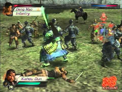 PS2 Dynasty Warriors 4 Gameplay - YouTube