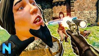 VR Game Turns You Into Jedi John Wick!