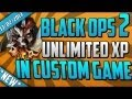 Black Ops 2 XP Lobby Glitch - Online XP in Custom Games With Bots Easy Tutorial (Xbox 360/PS3)