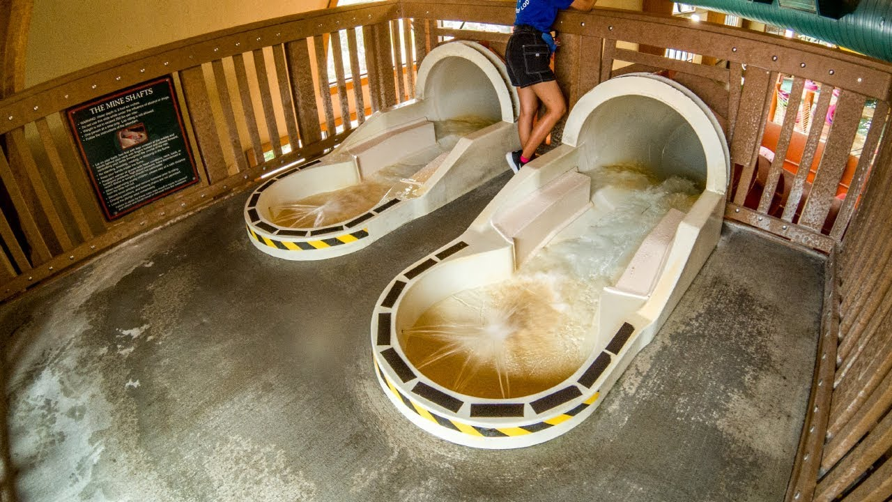 great wolf lodge wisconsin dells mine shaft waterslide. Black Bedroom Furniture Sets. Home Design Ideas