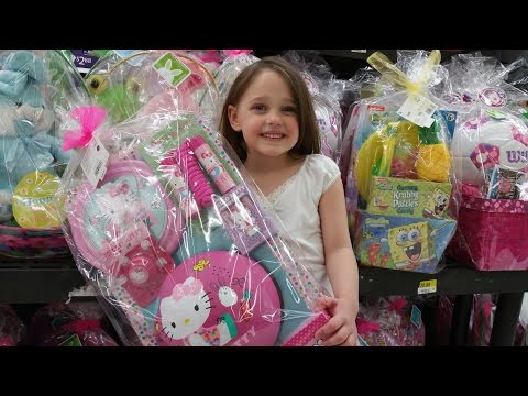 """Easter Basket Shopping with Annabelle """"Happy Easter, Toy Freaks"""""""