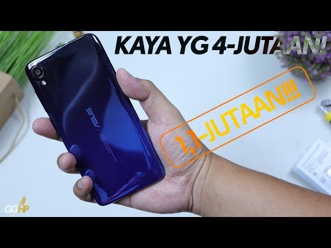 HAPE 1,1-JUTAAN KECE Dari ASUS. Unboxing Zenfone Live L2 Resmi
