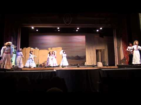 CNHS' The Pirates of Penzance Saturday Part 2:  Daughters' Song to Major General Meets Pirates