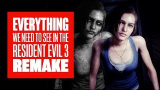 Everything We Want From Resident Evil 3 Remake - Resident Evil 3: Nemesis Remake Gameplay