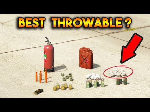GTA 5 ONLINE : WHICH IS BEST THROWABLE WEAPONS? (STICKY BOMB, PROXIMITY MINES, SNOWBALL, ETC.)