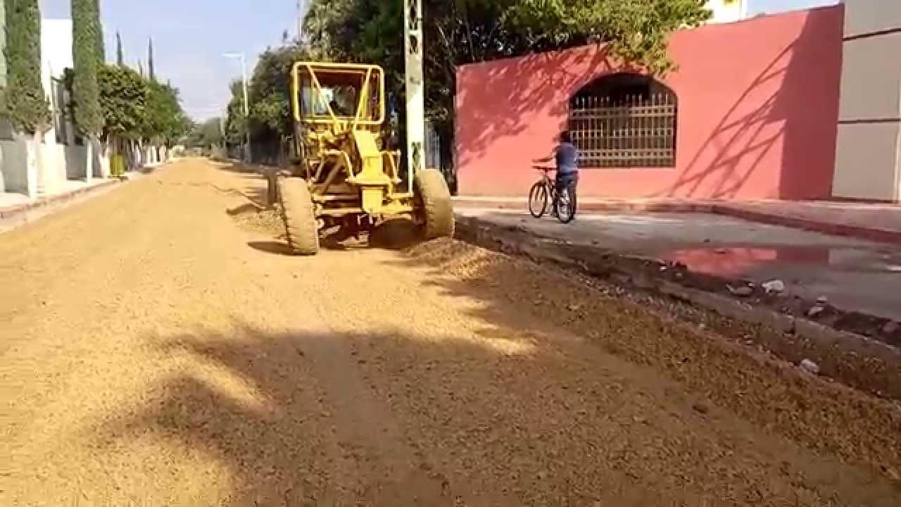 Colocacion de base hidr ulica para pavimento youtube - Que es pavimento ...