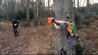 Extreme Nerf Forest Ambush!