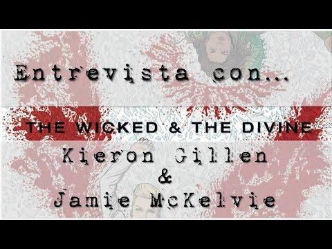 Interview with Kieron Gillen & Jamie McKelvie / Entrevista + Concurso 'The Wicked + The Divine'