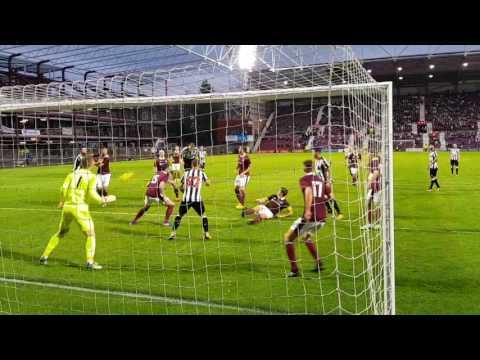Hearts v Newcastle United - Florian Lejeune Late Header