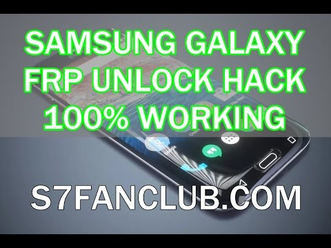 How To Unlock Remove FRP Lock All Samsung Phones Video 2019? »