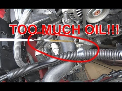 what happens if you overfill your engine oil youtube what happens if you overfill your engine oil