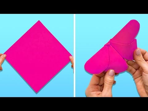 10 WONDERFUL PAPER CRAFTS WHEN YOU ARE BORED
