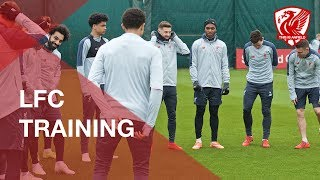 Liverpool FC Training | Feat. Gomez, Salah and Mane