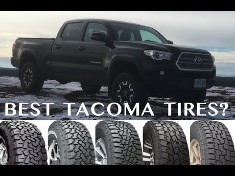 Best Tires for the Tacoma