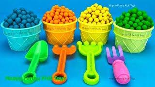 Play Doh Dippin Dots Ice Cream Cups Yowie Chupa Chups Kinder Surprise Egg Disney Princess Care Bears