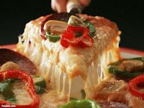 صورة  طريقة عمل البيتزا أسهل طريقة لعمل البيتزا الإيطالية طريقة عمل البيتزا من يوتيوب