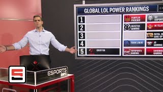 League of Legends global power rankings through March 19 | ESPN Esports