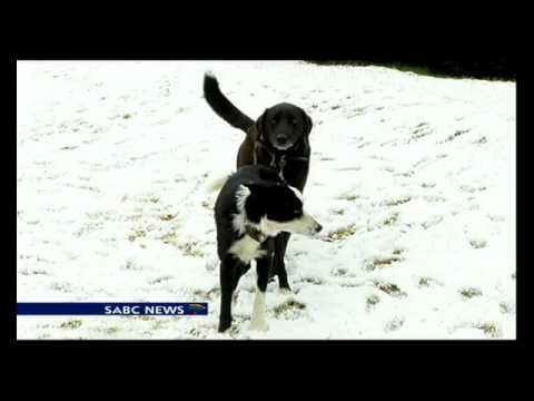 Eastern Cape receives morning snow fall