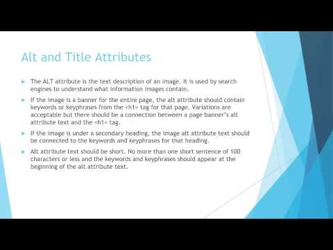 Brieflyhost - 6   SEO Tutorial   Headings Tags and Alt and Title Attribute #seos