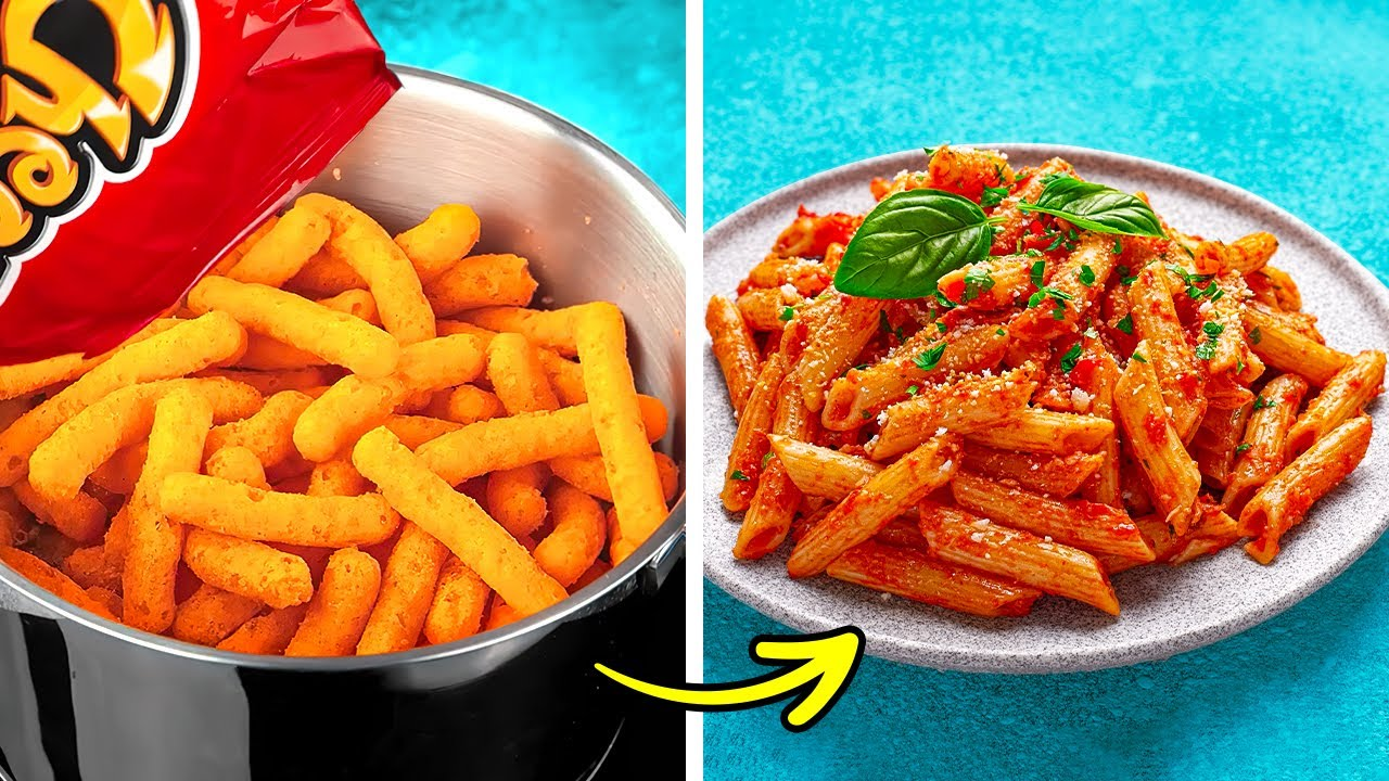 Easy And Yummy Cooking Hacks, Kitchen Tips And Unexpected Food Ideas For Any Taste