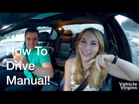 Teaching My Girlfriend How To Drive Manual For The First Time!