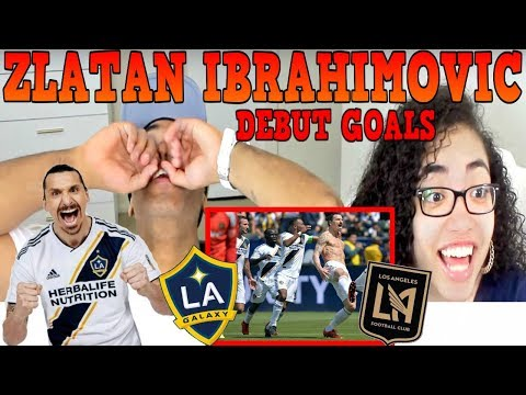 ZLATAN IBRAHIMOVIC FIRST GOALS IN MLS DEBUT | LA GALAXY VS LOS ANGELES FC 4-3 | REACTION