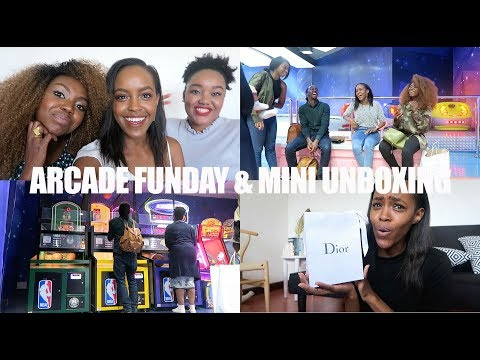 ARCADE FUNDAY & MINI UNBOXING VLOG | THIS IS ESS