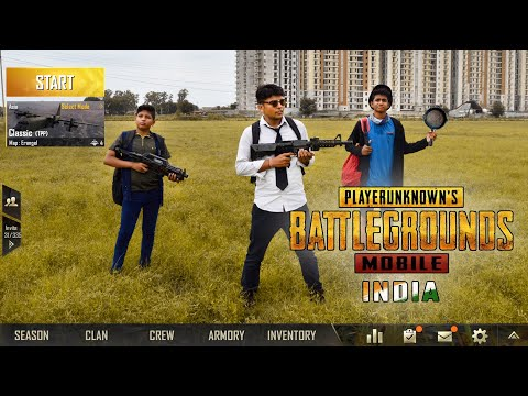 PUBG in Real Life | PUBG in India | Funny video | Playerunknown's Battleground |