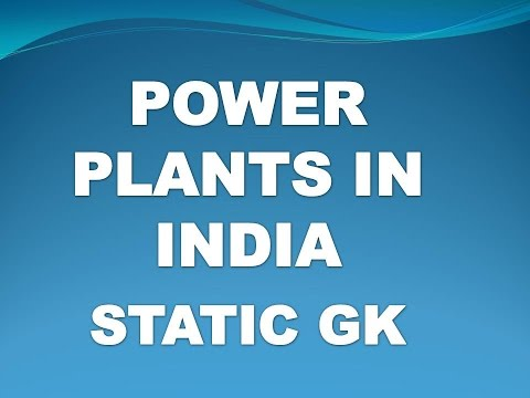 Nuclear Power Plants In India  (Static Gk) || GK Shortcuts In Telugu