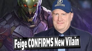 KEVIN FEIGE CONFIRMS NEW VILLAIN IN AVENGERS ENDGAME