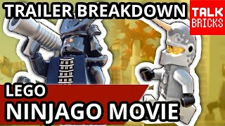 LEGO Ninjago Movie Outcast By Day Trailer Breakdown! ALL Easter Eggs! NEW Narwhal Shark Army Villain