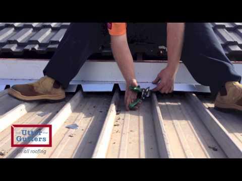 Scribed apron flashing: permanent stop to verandah leaks
