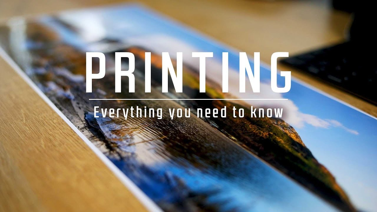 Start PRINTING your photos today | ESSENTIAL Tips and Tricks - YouTube