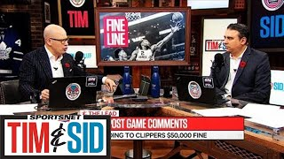 Tim and Sid discuss Kawhi Leonard's post game comments regarding th...