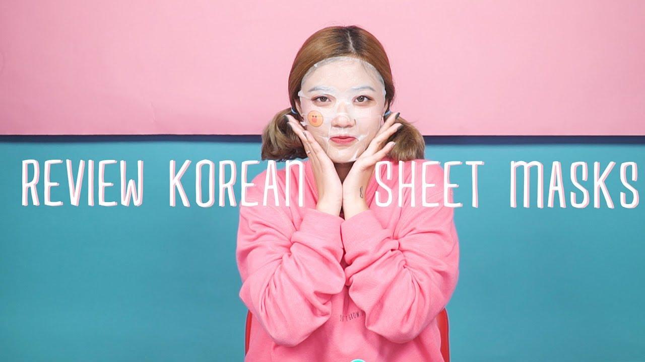 REVIEW 5 LOẠI MẶT NẠ HÀN QUỐC | REVIEW KOREAN MASKS | REVIEW & SWATCH | FANNY TRẦN