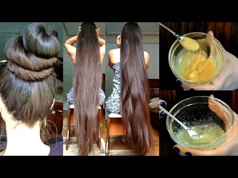 I Use This Remedy To Grow Super Long & Thicker Hair Naturally - Grow Hair Faster
