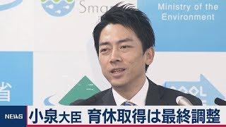 小泉大臣 育休「最終調整中」