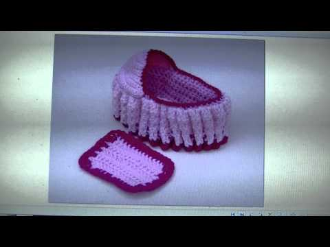 Crochet Cradle Purse - FREE WRITTEN PATTERN