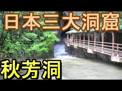 【日本三大洞窟】秋芳洞(山口県美祢市)日本最大の鍾乳洞