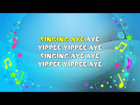 She'll Be Coming Round the Mountain | Sing A Long | Nursery Rhyme | KiddieOK