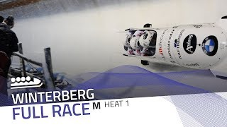 Winterberg | BMW IBSF World Cup 2017/2018 - 4-Man Bobsleigh Heat 1 | IBSF Official