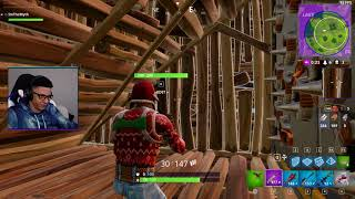 How to approach player in a base - Fortnite Highlight