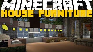 Minecraft: FURNITURE MOD (TV, Dishwasher, Food & More) Mod Showcase