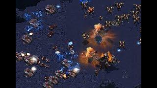 P - Strelok (T) v White-Ra (P) on Medusa - StarCraft  - Brood War REMASTERED